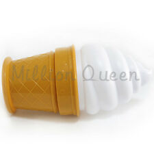 Kid Home Decor Ice Cream Berth Night Bed Light LED Shaped Bedside Lamp Gift