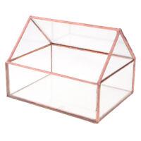 Glass Geometric Succulent Terrarium Candle Holder Wedding Centerpiece Decor