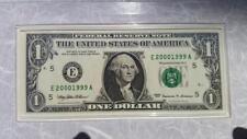 Millennium Coinage & Currency Set w/ Fancy Ladder Birthyear Serial $1 #20001999