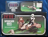 Vintage Kenner 1983 Star Wars Return Of The Jedi Speeder Bike MISB Sealed Taiwan
