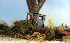 Rusted out Old WorkTruck Left to Rust out comes Painted for you S Scale