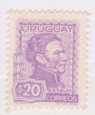 (UGA-50) 1972 Uruguay 20p lilac general ARTIGAS (A)