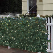 "BCP Faux Ivy Privacy Fence Screen 94""x39"" Artificial Hedge Fencing Outdoor Decor"