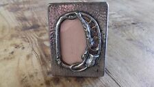 Usado - MARCO PARA FOTOS MINIATURA - Metal plateado - Item For Collectors -