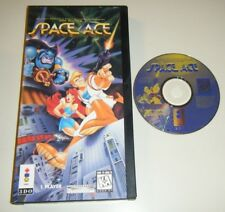 Space Ace GAME & CASE for your Panasonic 3DO system LONGBOX