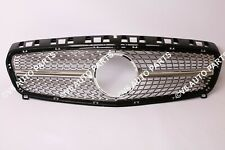 FRONT BUMPER GRILLE FOR 2012 - 2015 BENZ A CLASS W176 A160 A180 A45 AMG DIAMOND