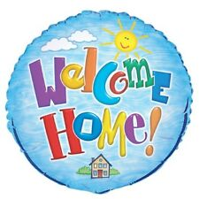 """Welcome Home Foil Balloon 45cm (18"""") Packaged   .52293"""