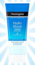 Neutrogena Hydro Boost Hydrating Whipped Body Balm 7 OZ