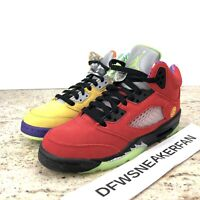 Nike Air Jordan 5 V Retro SE What The 5's CZ6415-700 Youth 6.5Y / Women's 8 New