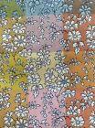 "A Lovely Multicoloured 'Capel' design Liberty Tana Lawn 13""x 9"""