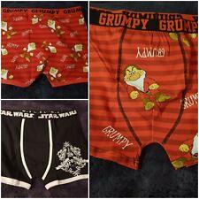 Gents Character Boxers Official Merchandise Star Wars / Disney M L XL