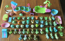 LITTLEST PET SHOP HUGE LOT 45 FROG GECKO IGUANA TURTLE ALL DIFFERENT ACCESSORIES