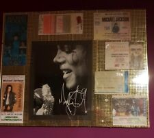 7 Michael jackson concert tickets