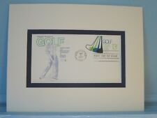 Honoring the Sport of Golf and the Masters' Tournament & Golf First Day Cover