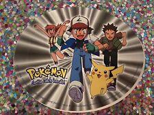 "New Listing�� Old 1999 Pokemon Sticker Pikachu Nintendo 4"" x 5"" Laptop Bumper Scooter �"
