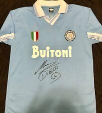 Diego Maradona Signed/Autographed Napoli Jersey w/ JSA Letter Of Authentication.