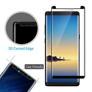 9H 3D Tempered Glass Screen Protector For Samsung Galaxy S8 S9 Plus Note 8 9
