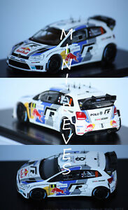 Spark Volkswagen Polo WRC World Champ. 2013 S. Ogier 1/43 S3314