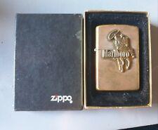 Marlboro Man Brass Zippo