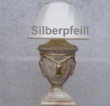 Lampe Tischleuchte Tischlampe Schreibtischlampe Stehlampe Marmor Optik 40 Neu