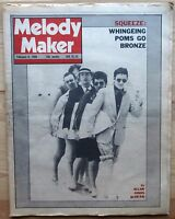 MELODY MAKER 9 FEB 1980 SQUEEZE THE BOYS FLYING LIZARDS IGGY POP SEX PISTOLS