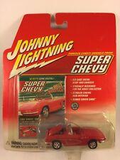 Johnny Lightning 61 1961 Corvette Super Chevy Magazine Rubber Tires Diecast 1/64