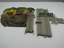 OPERATING LOG LOADER W/ TURNOUT TRACK TYCO US-1 ELECTRIC TRUCKING HO SLOT CAR