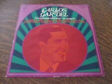 33 tours CARLOS GARDEL l'inoubliable chanteur de tangos