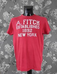 ABERCROMBIE AND FITCH RETRO LOOK MUSCLE FIT T-SHIRT. SIZE XL