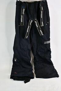 Spyder Winter Wear Thinsulate Insulation Black Snow Pants Ladies USA Size 6