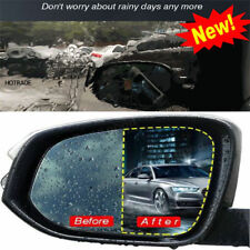 2x Car Anti Fog Nano Coating Rainproof Rear View Mirror Window Protective Film