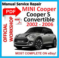 #OFFICIAL WORKSHOP MANUAL service repair FOR MINI COOPER S CONVERTIBLE 2002-2006