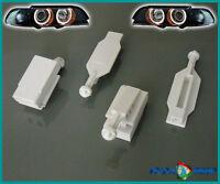 4x SET SCHEINWERFER REFLEKTOR HALTERUNG BMW E39 00-03 HALOGEN XENON #NEU#