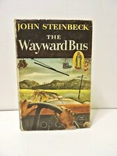 "John Steinbeck ""The Wayward Bus"" In DJ Viking Press 1st Ed 1947"