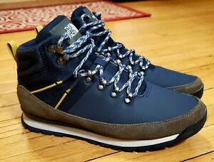 The North Face Back-to-Berkeley Mid Winter Boots Men's Size 10 Navy