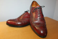 Edward Green of London Wingtip Men's Dress Shoes Burgandy Size UK 5