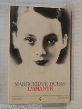 L AMANTE Marguerite Duras Feltrinelli 1985 libro romanzo narrativa racconto di