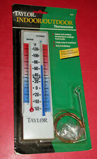 New listing Vintage Taylor Indoor - Outdoor Wall Thermometer - Model 5326 -Sealed in Package