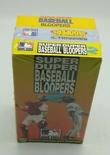 Super Duper Baseball Bloopers Tapes One & Two  &  Baseball's Funniest Bloopers