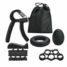 Gym Fitness Adjustable Hand Grip Set Finger Forearm Strength Muscle 5PC/Set NEW.