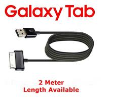Samsung Galaxy Tab 2 Metre USB Data Cable Charging Charger Sync Lead Galaxy Tab