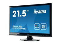 "Iiyama ProLite E2278HD 22"" inch Full HD, DVI-D, D-SUB VGA Monitor"