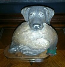 "1997 Bradford Williams Bronze Labrador Sculpture  ""Gracious Retrieval"" 73/450"