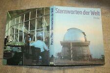 Fachbuch Sternwarten der Welt, Observatorium, Teleskop, Astronomie, DDR 1980