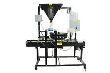 Jar Filling Machine With Attached Packaging Carousel