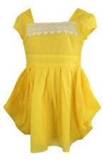 Vêtements jaunes courts pour fille de 2 à 16 ans