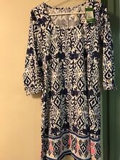 NWT Lilly Pulitzer Ocean Ridge Bright Navy Dress, Sz M $168