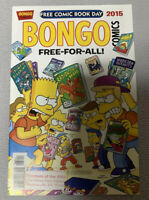 Bongo Comics: Simpsons Free-For-All! - FCBD Free Comic Book Day 2015 Very Good +