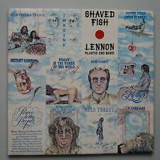 John Lennon - Shaved Fish Vinyl LP + Inner UK 1st 1U/1U Best Of Greatest Hits