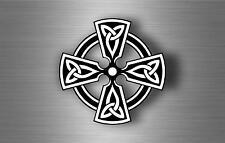 Sticker adesiva adesivi tuning auto celtico trinity triquetra croce knot rA6